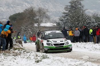 Essapekka Lappi and Janne Ferm, Skoda Fabia S2004