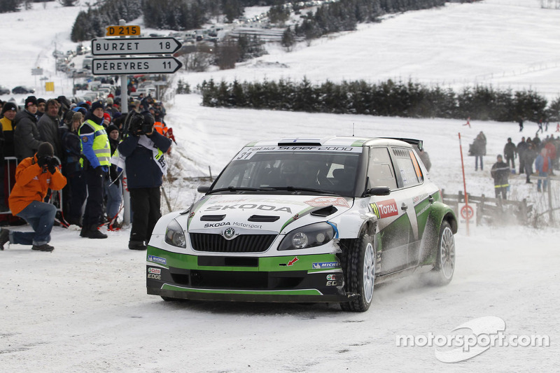 Essapekka Lappi and Janne Ferm, Skoda Fabia S2000