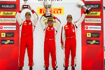 Trofeo Pirelli podium: winner John Farano