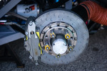 Disc brake on Mazdaspeed Speedsource Mazda6 GX
