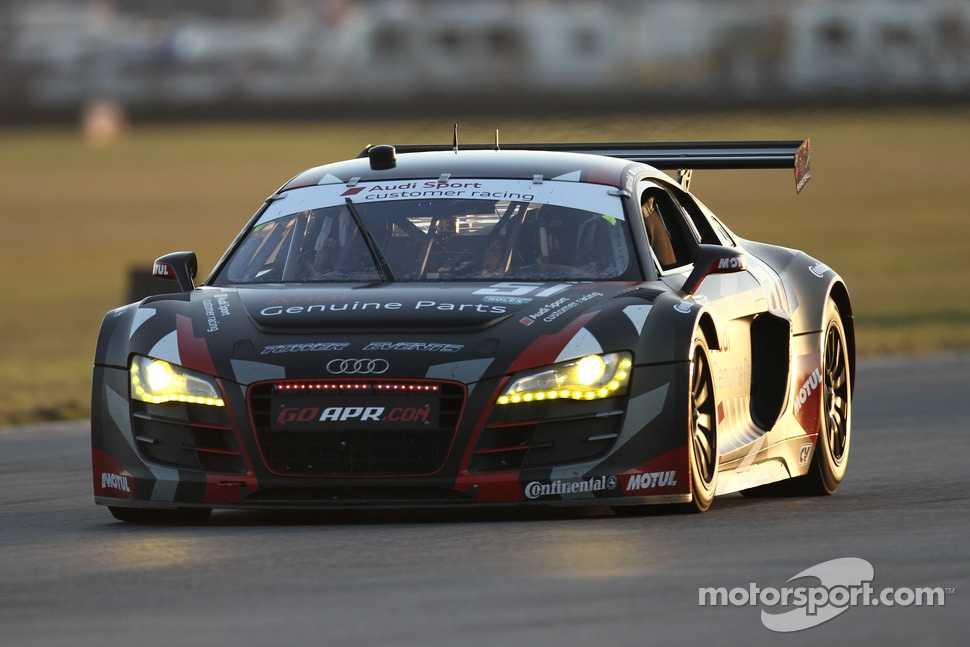 #51 Audi Sport Customer Racing/APR Motorsport Audi R8 Grand-Am: Matt Bell, John Farano, Alex Figge, Dave Lacey, David Empringham