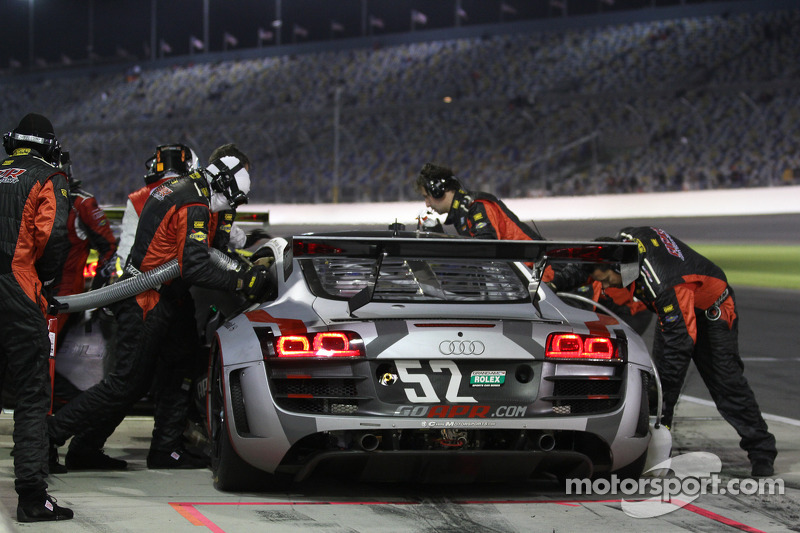 Pit Stop #52 Audi Sport Customer Racing/APR Motorsport Audi R8 Grand-Am