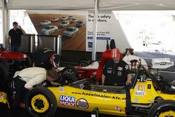 Crews prepare vintage Formula Vees