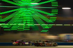 #66 TRG Porsche GT3: Jörg Bergmeister, Dominik Farnbacher, Ben Keating, Kuno Wittmer, #5 Action Express Racing Corvette DP: Christian Fittipaldi, Felipe Nasr, Nelson A. Piquet, Joao Barbosa, Brian Frisselle