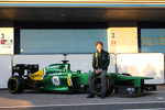 Charles Pic, Caterham with the new Caterham CT03