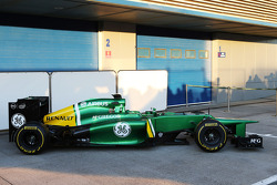 The Caterham CT03 is unveiled