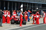 Felipe Massa, Ferrari F138 in the pits