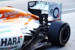 Sahara Force India F1 VJM06 rear suspension