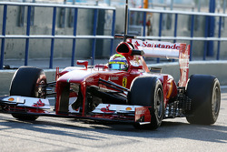 Felipe Massa, Ferrari F138 running sensor equipment