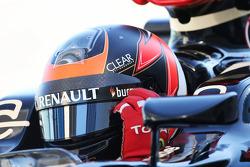 Kimi Raikkonen, Lotus F1 E21 - helmet