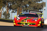 #33 Clearwater Racing Ferrari 458: Mok Weng Sun, Craig Baird, Matt Griffin
