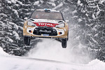 Mikko Hirvonen and Jarmo Lehtinen, Citron DS3 WRC, Citron Total Abu Dhabi World Rally Team
