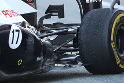 Williams FW34 rear suspension