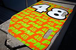 Pitboard for #48 Paul Miller Racing