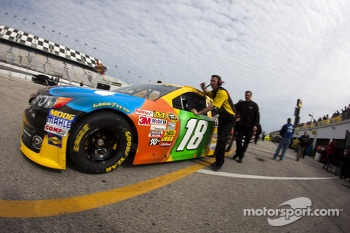 Kyle Busch's car