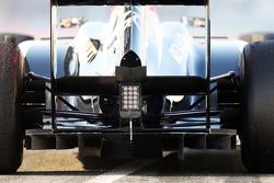 Lotus F1 E21 rear diffuser