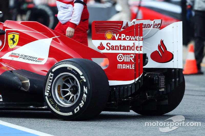 Fernando Alonso, Ferrari F138 rear wing