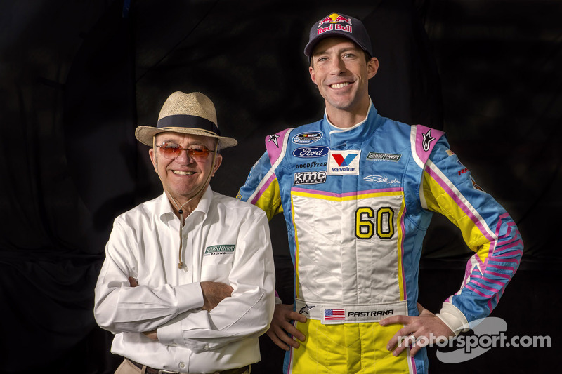 Travis Pastrana with Jack Roush