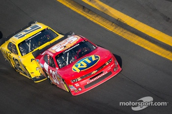 Tony Stewart and Sam Hornish Jr.
