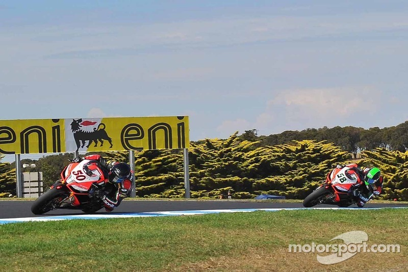 Eugene Laverty and Sylvain Guintoli