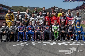 The 2013 drivers photoshoot