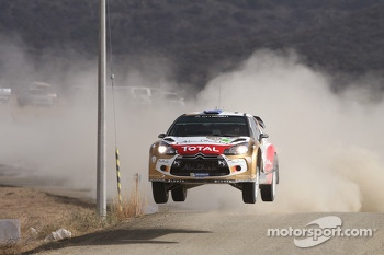 Chris Atkinson and Stéphane Prévot, Citroën DS3 WRC, Citroën Total Abu Dhabi World Rally Team