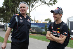 Adrian Burgess, Triple Eight Team Principal with Casey Stoner, former MotoGP Rider and V8 Supercar Driver