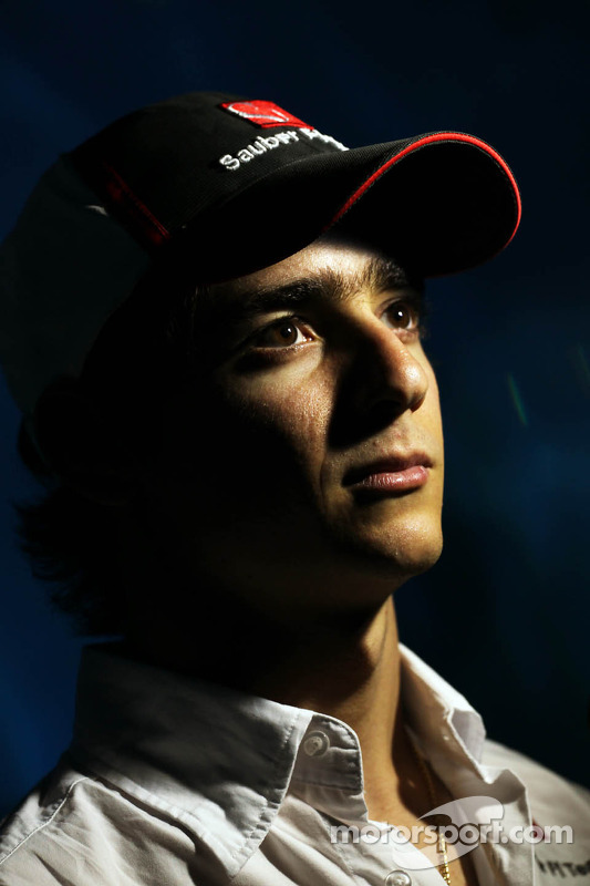 Esteban Gutierrez, Sauber at the Melbourne Aquarium