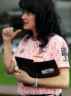 Silvia Hoffer, McLaren Press Officer