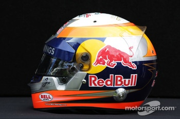 The helmet of Jean-Eric Vergne, Scuderia Toro Rosso