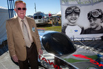 Dr. Don Panoz with the new DeltaWing Racing Cars DeltaWing LM12 Elan Coup