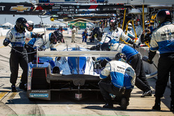 Pit stop for #16 Dyson Racing Team Lola B12/60 Mazda: Chris Dyson, Guy Smith, Butch Leitzinger