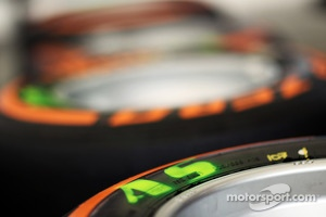 Pirelli tyres for Adrian Sutil, Sahara Force India F1