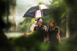 Valtteri Bottas, Williams during a storm