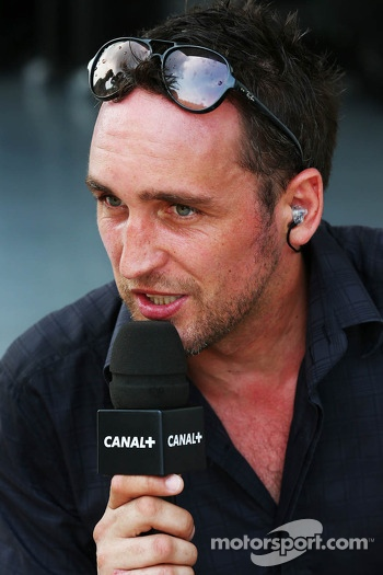 Franck Montagny, Canal+ TV Presenter