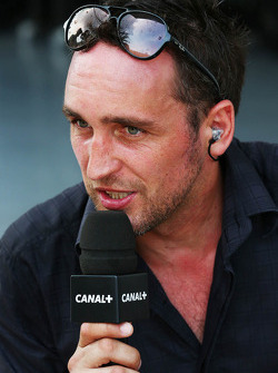 F1: Franck Montagny, Canal+ TV Presenter