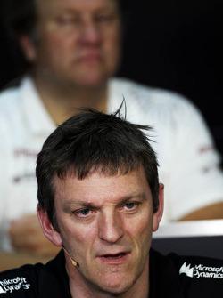James Allison, Lotus F1 Team Technical Director in the FIA Press Conference