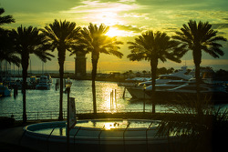 Sunrise on St. Pete marina