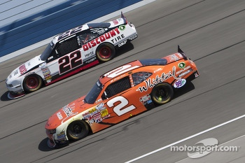 Brad Keselowski and Brian Scott
