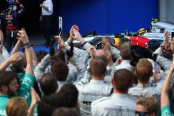 Third place Lewis Hamilton, Mercedes AMG F1