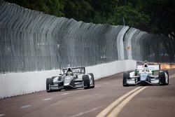 Sébastien Bourdais, Dragon Racing Chevrolet, Simona de Silvestro, KV Racing Technology Chevrolet