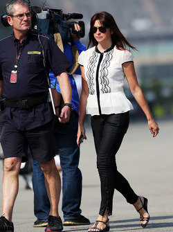 Suzi Perry, BBC F1 Presenter