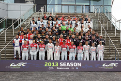 WEC 2013 start of season group photo
