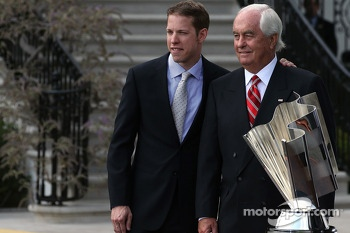 Brad Keselowski and Roger Penske