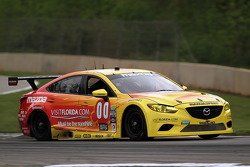 #00 Visit Florida Racing/Speedsource Mazda6 GX: Joel Miller, Andrew Carbonell