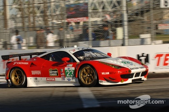 #23 Team West/AJr Ferrari F458 Italia: Bill Sweedler, Townsend Bell