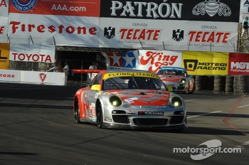 #45 Flying Lizard Motorsport Porsche 911 GT3 Cup: Nelson Canache, Spencer Pumpelly