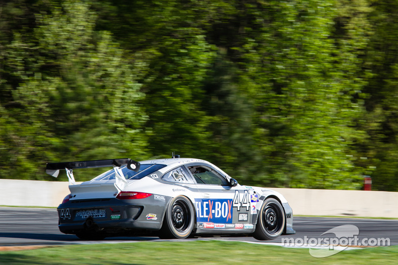 #44 Magnus Racing Porsche GT3: Andy Lally, John Potter