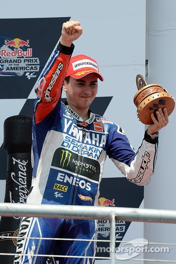 Podium: third place Jorge Lorenzo