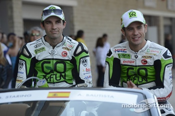 Bryan Staring and Alvaro Bautista, Go & Fun Honda Gresini